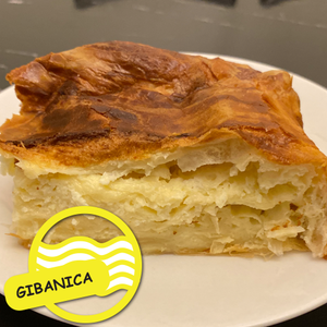 MezeHub FRESH HOMEMADE GIBANICA - Family Size  (950g)