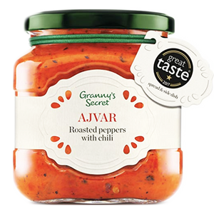 Grannys Secret Ajvar with Chilis / Bakina Tajna Ajvar LJUTI 550g (Grannys Secret)