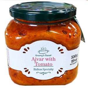 Grannys Secret Ajvar with Tomato / Bakina Tajna PINDJUR 550g (Grannys Secret)