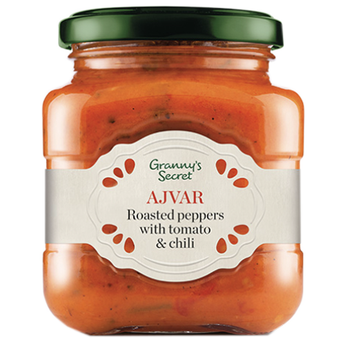 Grannys Secret Ajvar with Tomatos / Bakina Tajna Ajvar sa Paradajzom 200g (Grannys Secret)