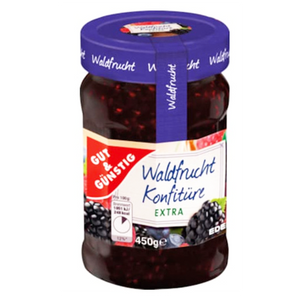 Blackberry Jam / Djem od Kupine 450g (Gut & Gunstig)