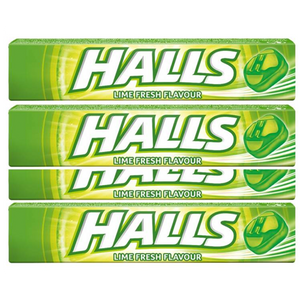 Halls Candy Lozenges LIME 33.5g (Halls)