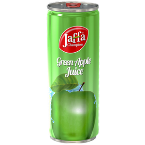 Jaffa Champion Green Apple Nectar (can) 250ml (FLUIDI)