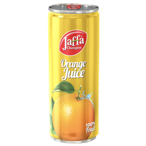 Jaffa Champion Orange Nectar (can) 250ml (FLUIDI)