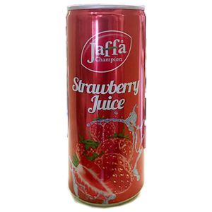 Jaffa Champion Strawberry Nectar (can) 250ml (FLUIDI)