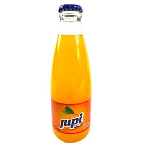 Jupi Orange Soda in Glass Bottles  0.25l (Kolinska) (4433747902498)