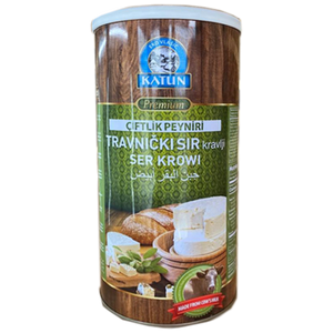 Travnicki Cow's Milk Cheese 800g (Katun)