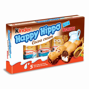 Happy Hippo Cocoa Biscuits  103g (Kinder) (4433746395170)