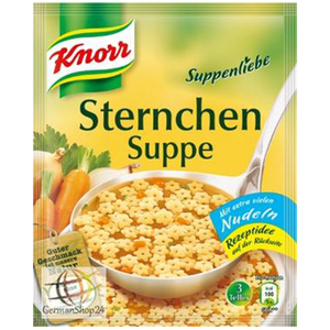 Noodle Star Soup / Sternchen Suppe 84g (Knorr)