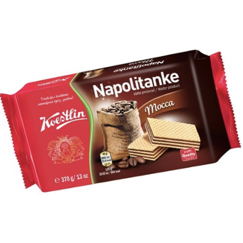 Wafer Squares With Mocca 370g (Koestlin)