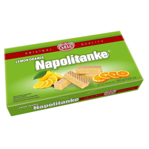 Napolitanke LEMON-ORANGE Wafers 330g (Kras)