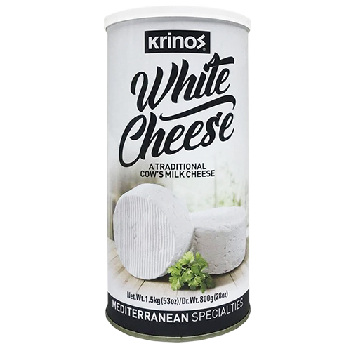 Krinos Traditional White Cow Cheese 800g (Krinos)