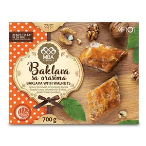 Bujrum Baklava with Walnuts 700g (MBA)