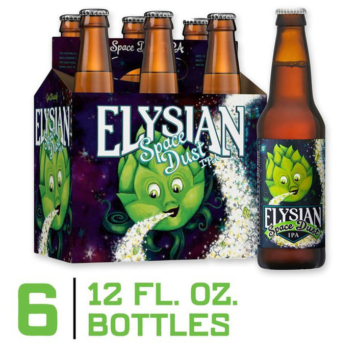 Elysian Space Dust IPA Beer 6-Pack Bottles (Elysian)