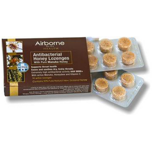 ABH Manuka & Honeydew 16 lozenges  (Airbone Honey) (4433738170402)