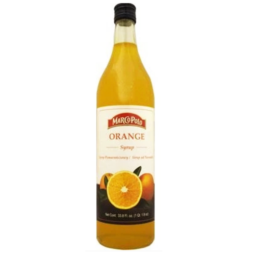 Orange Syrup 1l (Marco Polo)