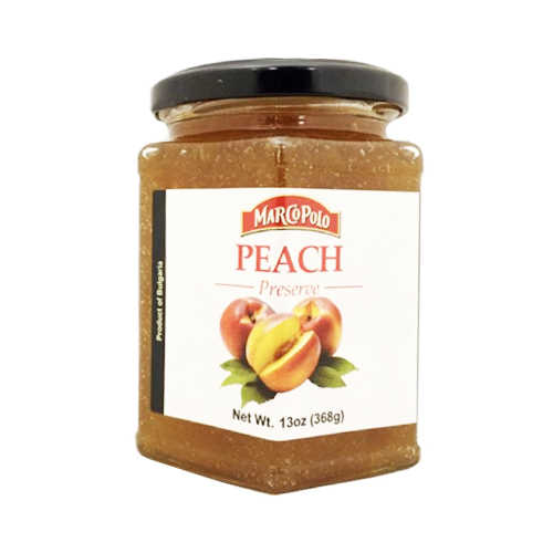 Peach Preserves 368g (Marco Polo)