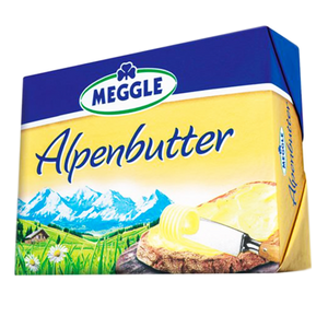 Premium Alpine Butter from the German Alps 250g (Meggle)