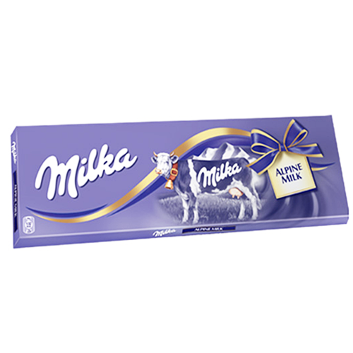 Milka Alpine Milk Chocolate Bar 270g (Milka)