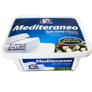Mediteraneo Soft White Cheese in Brine 12pcs x 450g (Mlekara Sabac)