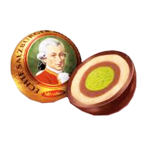 Mozartkugeln Single Chocolates (Mirabell)