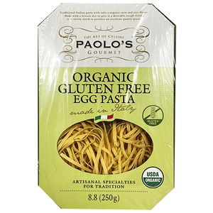 Paolo's Fettuccine Egg Gluten Free Organic 250g (Paolo's)