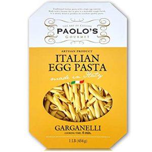 Paolo's Garganelli Egg Pasta 453g (Paolo's)