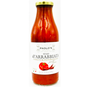 Paolo's Spicy (Arrabiata) Tomato Sauce 518g (Paolo's)