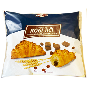 Croissant w. CHOCOLATE NOUGAT fillings  10pcs x 90g  (PECJAK)