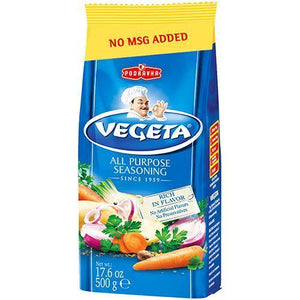 Vegeta Seasoning Mix with No Msg 500g (Podravka)