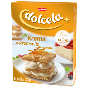 Dolcela Cream Mix Krema Za Kremsnite 230g (Podravka)