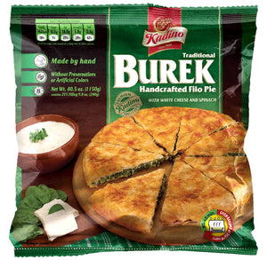 Burek w. Cheese & Spinach  1150g (Kadino) (4433746329634)
