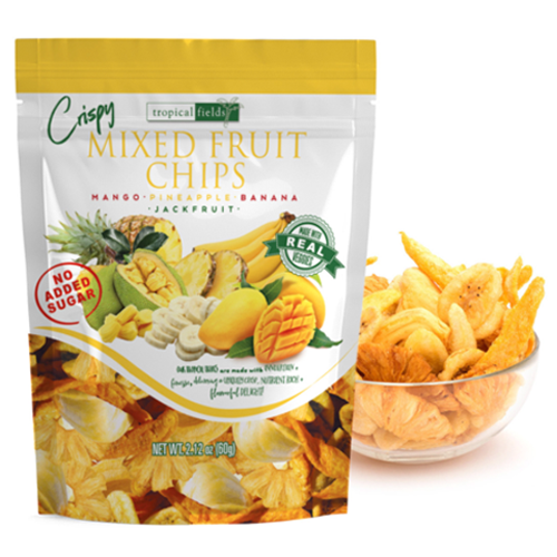 Mixed Fruit Chips 60g (Tropical Fields)