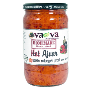 Homemade HOT Ajvar  680g (Va-Va) (4433737646114)