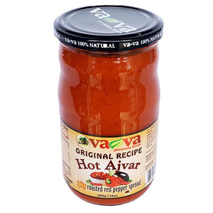 Original Recipe HOT Ajvar  680g (Va-Va) (4433737613346)