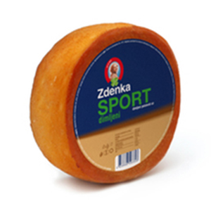 Semi-Hard Smoked Sport Cheese 600g (Zdenka)