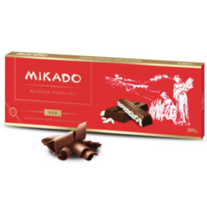 Mikado Chocolate with Puffed Rice 300g (Zvecevo)