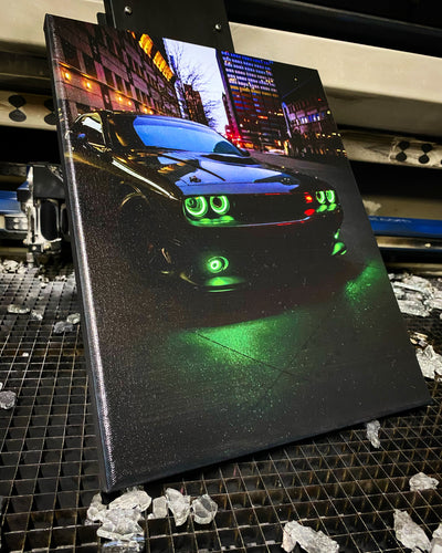 Custom Canvas Print  (FREE SHIPPING) - Forged Concepts Custom Car Badges