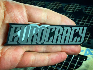 Eurocracy Badges (2) FREE SHIPPING - Forged Concepts Custom Car Badges