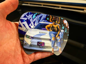 Challenger/Charger Custom Steering Wheel Insert (YOUR DESIGN) FREE SHIPPING - Forged Concepts
