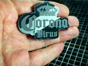 Coronavirus FULL PACKAGE 3 Badges (FREE SHIPPING) - Forged Concepts Custom Car Badges