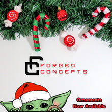 Load image into Gallery viewer, Baby Yoda Ornament (FREE SHIPPING) - Forged Concepts
