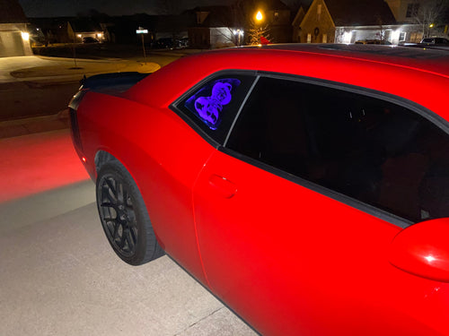 RGB lighting upgrade for Window Display - Forged Concepts Custom Car Badges