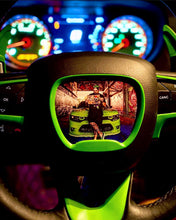Load image into Gallery viewer, ON SALE!!! Custom Steering Wheel Insert (YOUR DESIGN)