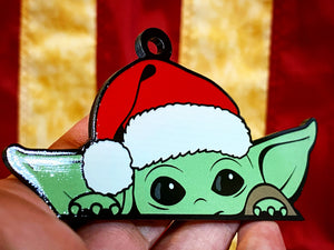 Baby Yoda Ornament (FREE SHIPPING) - Forged Concepts