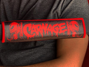 Carnage SeatBelt Covers 2 - Forged Concepts Custom Car Badges