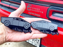 Load image into Gallery viewer, Tesla Cybertruck Magnet - Forged Concepts Custom Car Badges