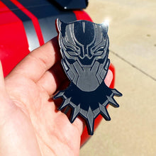 Load image into Gallery viewer, Black Panther Badges (2) - Forged Concepts Custom Car Badges