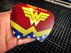 Wonder Woman Steering Wheel Insert - Forged Concepts Custom Car Badges