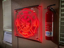 Load image into Gallery viewer, Large Signage LED Lit - Forged Concepts Custom Car Badges